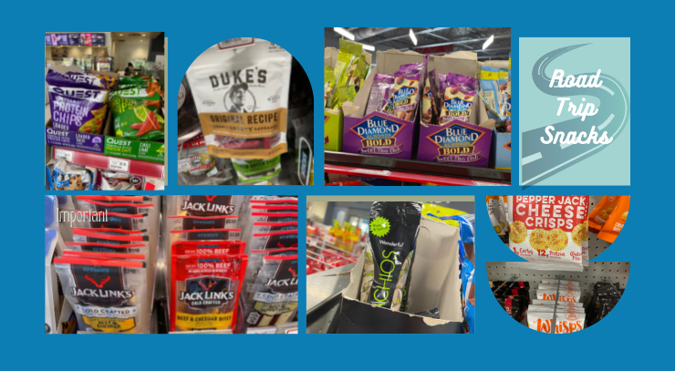 6 photos of keto snacks for the blog post keto on the rise how to eat keto on vacation and 5 best keto road trip snacks